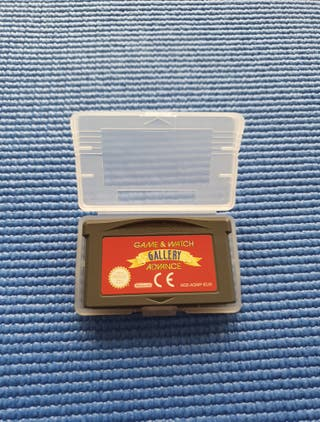 Game & Watch gallery game boy advance