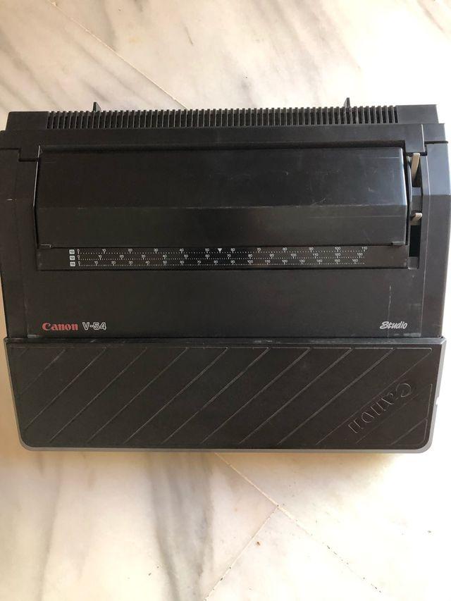 Máquina escribir Canon V-54 Studio