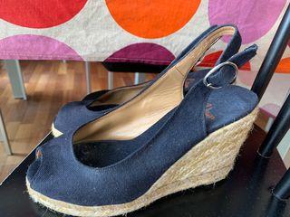 Zapatos cuña Castañer 36