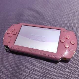 PSP ROSA + ACCESORIOS