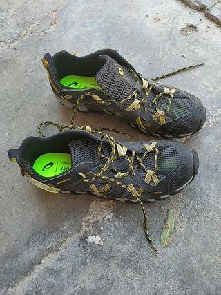 zapatillas merrell talla 46 trekking verano