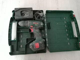 Taladradora atornilladora Bosch a batería
