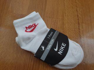 Lote 3 calcetines niño Nike 27-30
