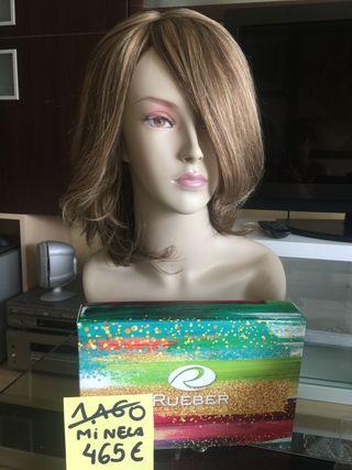 Peluca cabello natural RUEBER