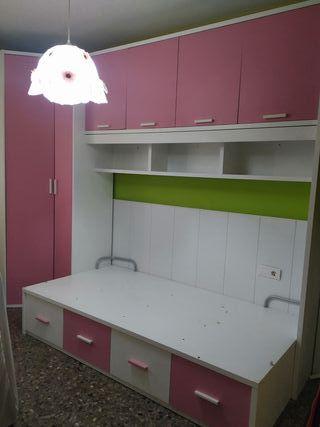 habitación infantil niña