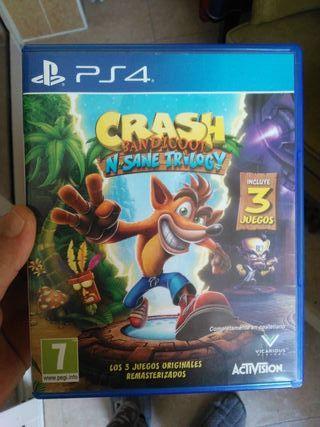 Juego PS4 Crash Bandicoot