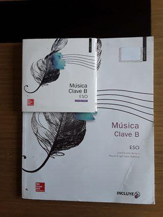 Libro de texto música ESO