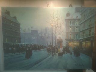 pintura, cuadro, antiguo 120x80