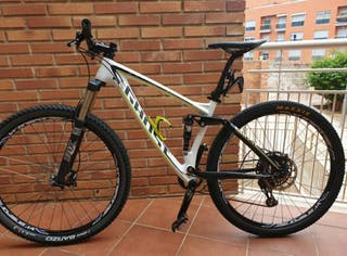 bicicleta carbono 29 ghost amr lt8 doble