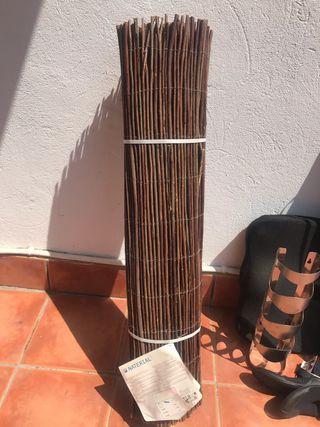 Valla palos madera 3m por 1m