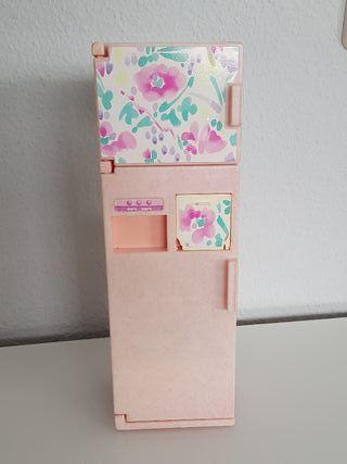 Nevera y lavandería Barbie 2 in 1