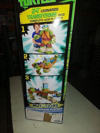 venta de tortuga ninja leonardo