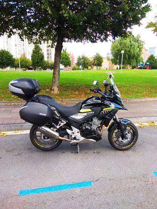 HONDA CB500X - año 2016 - 27.300 km