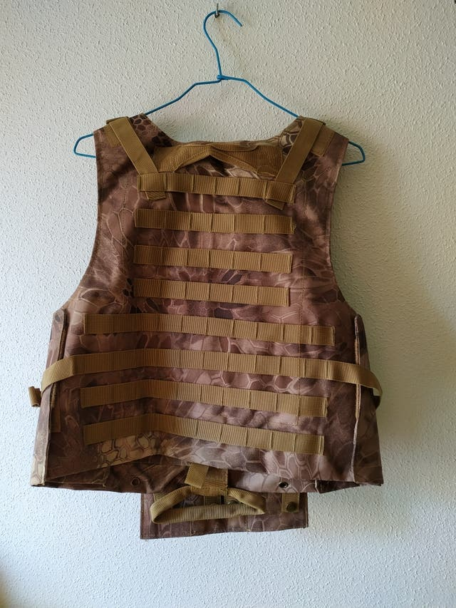 CHALECO MOLLE AIRSOFT.