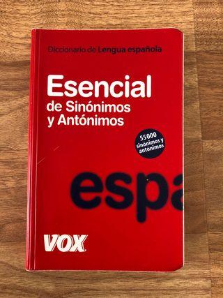 Diccionario español sinónimos-antónimos