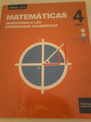 Libros 4 ESO colegio Apostol Santiago Aranjuez