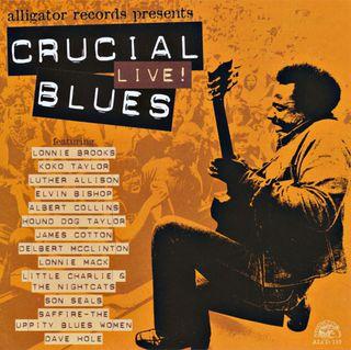 Various Crucial Live! Blues CD