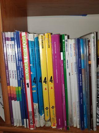 Libro ESO bachillerato inglés francés literatura