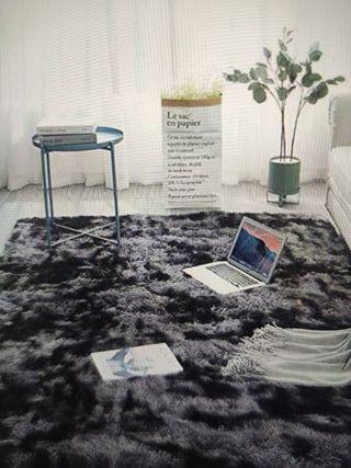 alfombra 60x160 gris oscuro