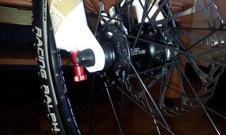 mountain bike GHOST calidad, ligera y como nueva