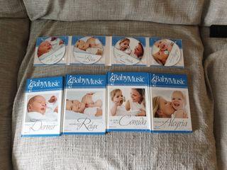 Baby Music (libros y cd)