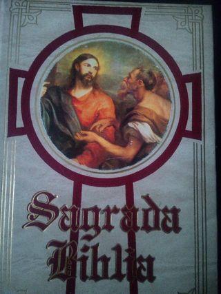 Sagrada Biblia. Editada en 1984
