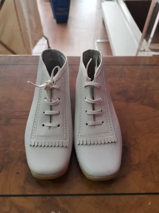 Zapatos clásicos de piel para niño, talla 25 y 26