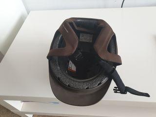 casco hípica nuevo para niño/a talla S
