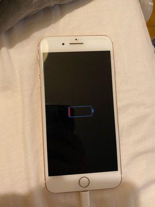 iPhone 7 Plus para piezas rosa