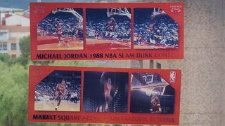 Michael Jordan 2 Slam dunk Motion card set