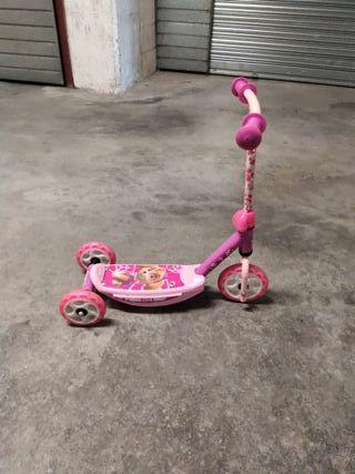 Patinete 3 ruedas niña