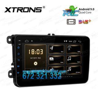 "RADIO PANTALLA TÁCTIL 8"" GPS Volkswagen / SKODA /"