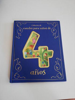Libro colección de cuentos para niños de 4 años