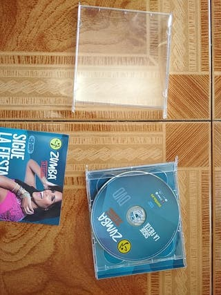 CD y DVD de Zumba