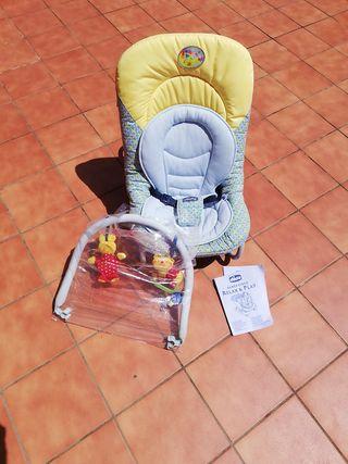 hamaca de bebé marca chicco relax & play
