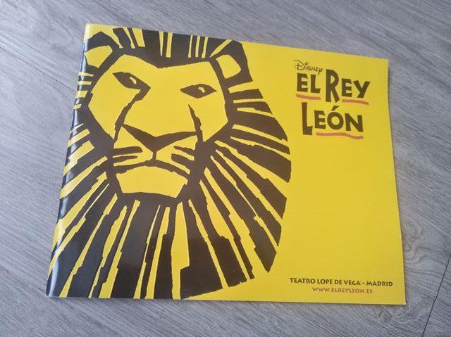 libreto musical Rey León