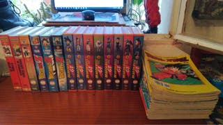 VHS Dragon Ball + Manga (gratis)