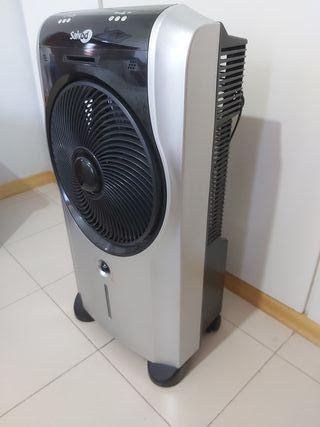 ventilador con nebulizador de agua