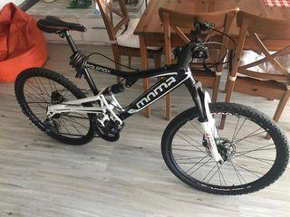 "Bicicleta Moma Equinox 26"" talla M"