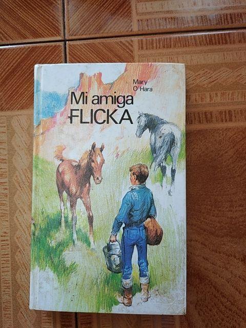 """el libro de """" Mi amiga Flicka"""""""