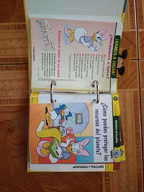archivador con juegos educativos para niños