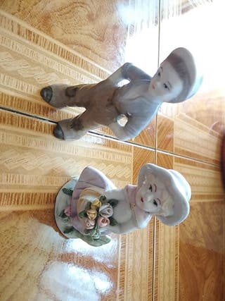 pareja de figuras decorativas