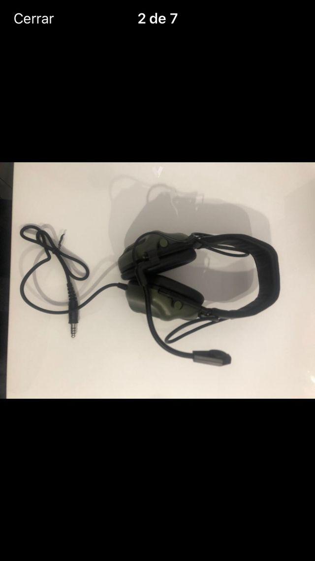 Cascos airsoft comunicación Headset V