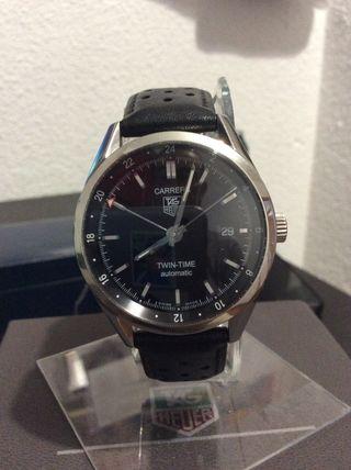 Reloj Tag Heuer modelo Twin Time Calibre 7