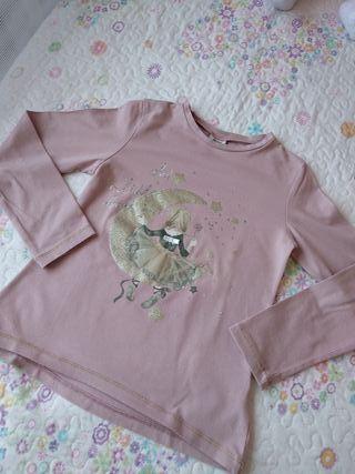 Camiseta Mayoral Luna y niña