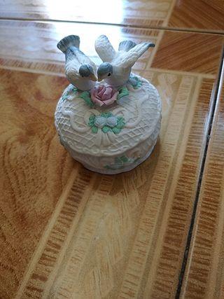 joyero de porcelana