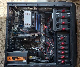 PC Intel i5 2500 + 8gb 1600 + Nvidia GTX 550Ti