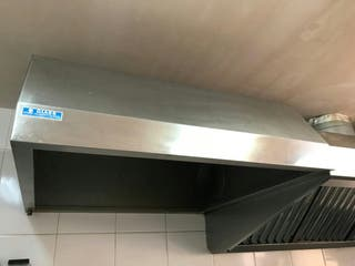 Campana extractora SIN MOTOR industrial INOX