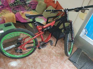 despiece bici enduro