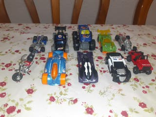 coches en miniatura